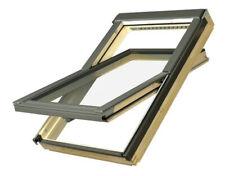 FAKRO Schwingfenster FTP-V U3 78x98 cm (05) mit Eindeckrahmen / Dachfenster