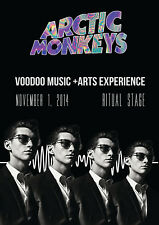 Reproduction Arctic Mondays Poster, Voodoo Music, Indie, Home Wall Art