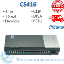 CENTRALITA TELEFONICA ANALOGICA EXCELLTEL CS416 PABX PBX 16 EXTENSIONES 4 LINEAS