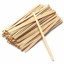 "High Quality Grade Wooden Coffee/Tea Stirrers 7.48""(190mm) -  Qty 1000"