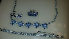 sherman necklace, bracelet  and earrings .Beautiful  for the prom