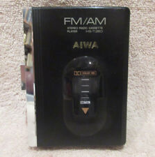 Aiwa Hs-T260 Am/Fm Radio Stereo Cassette Tape Player Walkman -No Battery Door