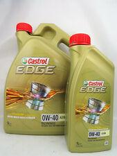 Castrol 0W40 Edge A3/B4 0W-40 Titanium Öl VW Audi MB Seat Skoda 15337F 6Liter