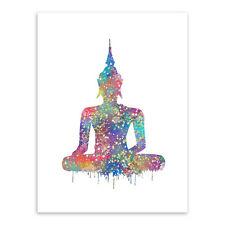 UNFRAMED ZEN BUDDHA CANVAS PRINT - 21 X 30CM (A4 size)