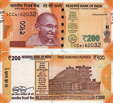 INDIA 2017 200 Rs Prefix 1CC Star Replacement L Inset Bank Note UNC NEW