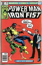 Power Man And Iron Fist #68-1981 fn Frank Miller Misty Knight