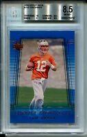 2000 Upper Deck Football #254 Tom Brady Rookie Card RC Graded BGS Nm Mint+ 8.5