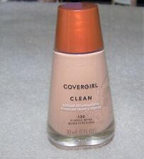 Covergirl clean liquid foundation 130 Classic Beige