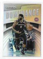 2019-20 Prizm Andre Drummond Silver Holo Dominance Insert SP No. 1