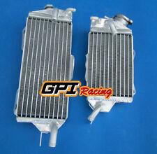 Aluminum radiator kawasaki kx125 KX 125 2 stroke 1990 1991 90 91