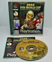 2002 FIFA World Cup Video Game for Sony PlayStation PS1 PAL TESTED