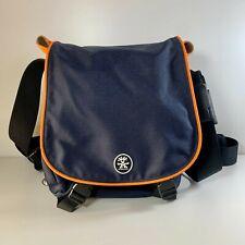 Crumpler LS-001 Long Schlong Camera Shoulder Bag Navy Blue Orange