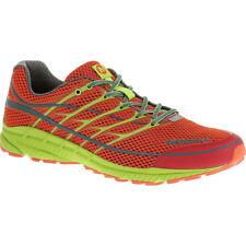 7b7b2b34306b Merrell Mens Mix Master Move 2 Haute Red lime Green Mesh Running Shoes  J01513 8.5
