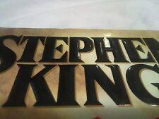 Lot: Stephen King hardcover books