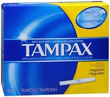 Tampax Tampons Regular 40 Each