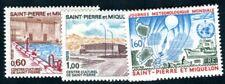 ST PIERRE et MIQUELON 1973 492-493, 495 ** POSTFRISCH TADELLOS 30€(F4336