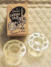 The Original Candle Vase with Arrange-O-Discs - Set of 2