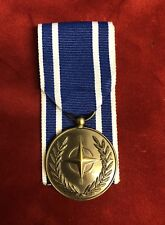 FULL SIZE NATO MACEDONIA MEDAL - BRAND NEW. FAST DISPATCH