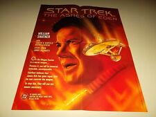 1995 Star Trek The Ashes Of Eden DC Comics Promo Poster Promotional Shatner