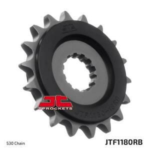 JT Rubber Cushioned Front Sprocket JTF1180.18RB Triumph 1050 Speed Triple 05-15