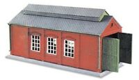 Engine Shed, brick built type - N gauge Peco NB-5