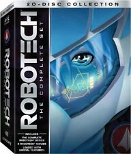 Robotech Wars Complete TV Series Collector Boxed Set: All Movies + Bonus DVD NEW
