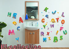 Memories ABC Letters For Kids Wall Decor Vinyl Decal Stickers Removable WK12