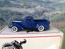 1/43 US model 1937 STUDEBAKER  coupe PICK UP #14 white metal