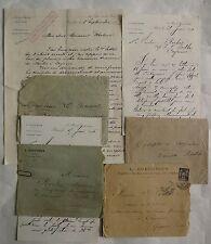 CAYENNE. Guyane. Correspondance Capitaine au long Cours. Porto Rico.1895.