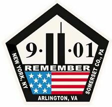 Remember 9-11   9/11  September 11   Memorial   Bumper Sticker