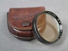 LIFA Panchrom gelbfilter 100/32, 32mm Aufsteckf.+Ledert