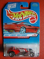 1997 FIRST EDITIONS N°4/12  SALTFLAT RACER  1/64  HOT WHEELS BLISTER IMPORT US