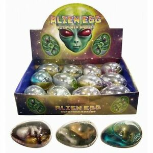 6x Twin Alien Egg Earthpods Party Loot Goodie Bag Fillers Toys N14 154