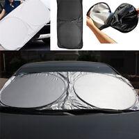 Auto Car Front Rear Window Foldable Jumbo Visor Sun Shade Windshield Cov Sj