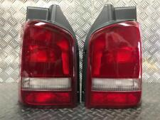 VW T5.1 FACELIFT TRANSPORTER / CARAVELLE TAILGATE REAR LIGHTS PAIR 2010-2015
