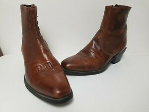 Laredo Men/'s Fletcher Tan Leather Ankle Boots 62074
