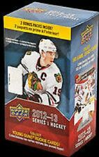 2012-2013 Upper Deck Series 1 Hockey Retail Blaster Box New Sealed