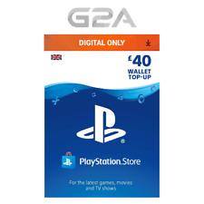 PSN £40 GBP Playstation Network 40 Pounds Store Card Key / PS4 PS3 PSP PSN – UK