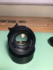 Leica 35mm Summilux M Pre-ASPH