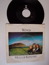 "THE WINGS: Mull of Kintyre / Girls School 7"" 45T French PARLOPHONE 2C 006 60.154"