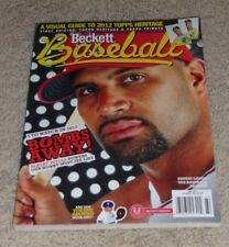 2012 Beckett Baseball- June - Vol. 12 No.5 Issue 75 - Albert Pujols - Cardinals