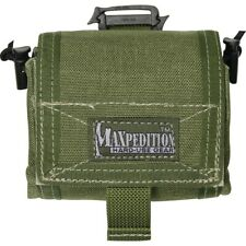 "Maxpedition Mega Rollypoly Folding Pouch Od Green Small Game 4.5"" x 2.5"" x 4.5"""