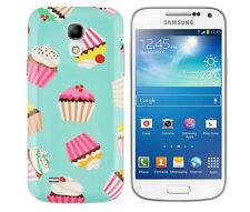 Funda protectora para Samsung Galaxy s4 mini i9190 funda, funda, estuche, Cupcake Panecillo
