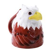 Topsy Turvy Coffee Mug Adorable Mug Upside Down Tea Home Office Decor (Eagle)