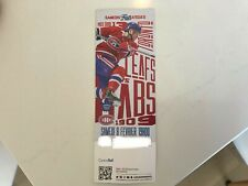 Unused Montreal Canadians tickets featuring Max Domi feb 8
