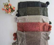 Laine, polyester et acrylique écharpe (Fauve)