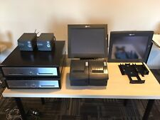 Ncr Aloha Point of sale, 2 Terminals, 2 Printers, 2 Cash Drawers. Full System.