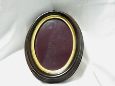 MADE IN ITALY OVAL WOOD PICTURE FRAME FOR 5X7 PICTURE OR PHOTO