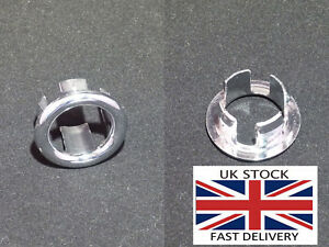 Bathroom sink overflow hole cover ring-UK STOCK
