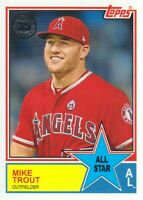 2018 Topps Baseball '83 All-Stars #83AS-4 Mike Trout Angels